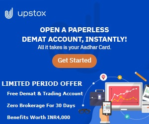 Upstox Free Demat Account
